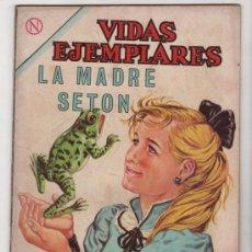 Tebeos: VIDAS EJEMPLARES # 172 LA MADRE SETON NOVARO 1964 MUY BUEN ESTADO. Lote 35526633