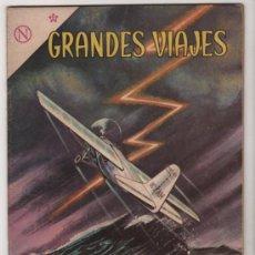 Tebeos - GRANDES VIAJES # 13 CHARLES LINDBERGH CRUZA EL ATLANTICO - NOVARO 1964 - EXCELENTE - 35561097