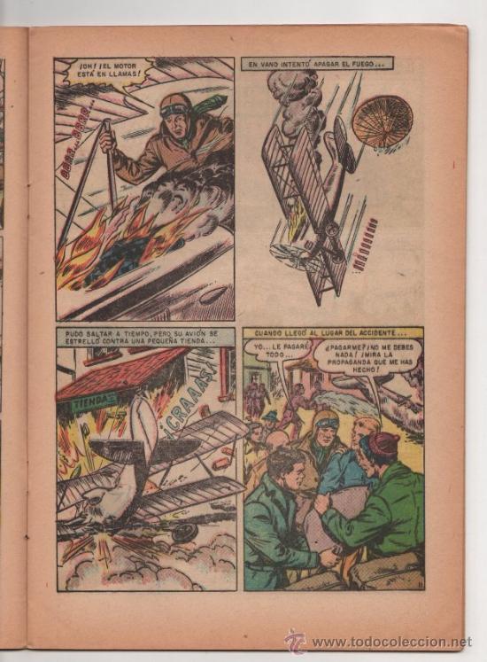 Tebeos: GRANDES VIAJES # 13 CHARLES LINDBERGH CRUZA EL ATLANTICO - NOVARO 1964 - EXCELENTE - Foto 3 - 35561097