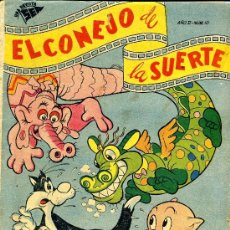 Tebeos: EL CONEJO DE LA SUERTE Nº10 (SEA, 1951) ¡MUY DIFÍCIL!. Lote 35575481