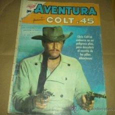Tebeos: AVENTURA, PRES. COLT 45 NUM. 157 DE 1961 SERIE TV-NOVARO CAWBOYS. Lote 35796284
