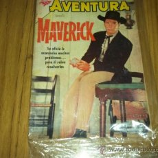 Tebeos: AVENTURA, PRES. MAVERIK 151 DE 1960 SERIE TV-NOVARO CAWBOYS. Lote 35796406