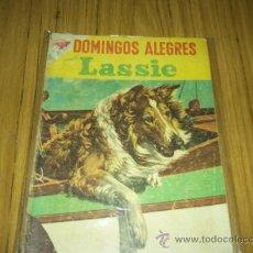 Tebeos: DOMINGOS ALEGRES Nº 244 DE 1958 PRES. LASSIE SERIE DE TV--NOVARO. Lote 35796744