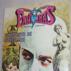 Tebeos: FANTOMAS, LA AMENAZA ELEGANTE:EL SECRETO DE FANTOMAS & FANTOMAS Y LA VENUS DE MILO . Lote 35863538