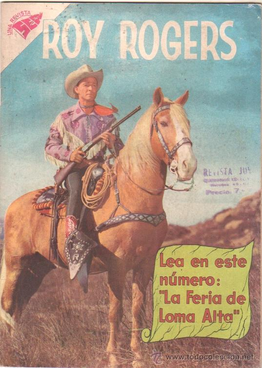 ROY ROGERS Nº 81 SEA 1959 (Tebeos y Comics - Novaro - Roy Roger)