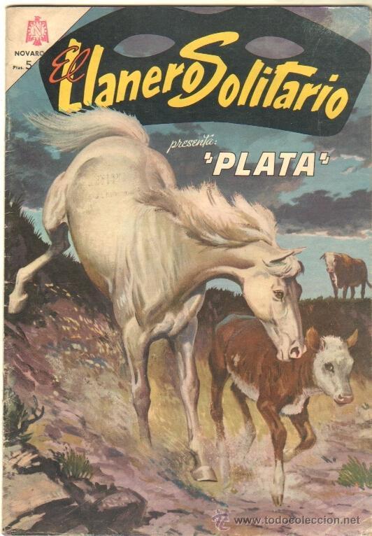 EL LLANERO SOLITARIO Nº 145 AÑO 1965 PLATA (Tebeos y Comics - Novaro - El Llanero Solitario)