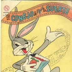 Tebeos: EL CONEJO DE LA SUERTE Nº 192 NOVARO 1964. Lote 36004156