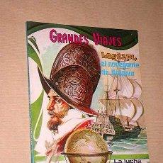 Tebeos: GRANDES VIAJES TOMO VI. LIBROCOMIC. LEGAZPI, EL CABO DE BUENA ESPERANZA. NOVARO, 1973. ++++. Lote 36136174
