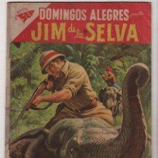 Tebeos: DOMINGOS ALEGRES # 225 JIM DE LA SELVA NOVARO 1958 CON DETALLES. Lote 36434700