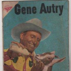Tebeos: GENE AUTRY # 54 - NOVARO 1958 - CON DETALLES. Lote 130169379