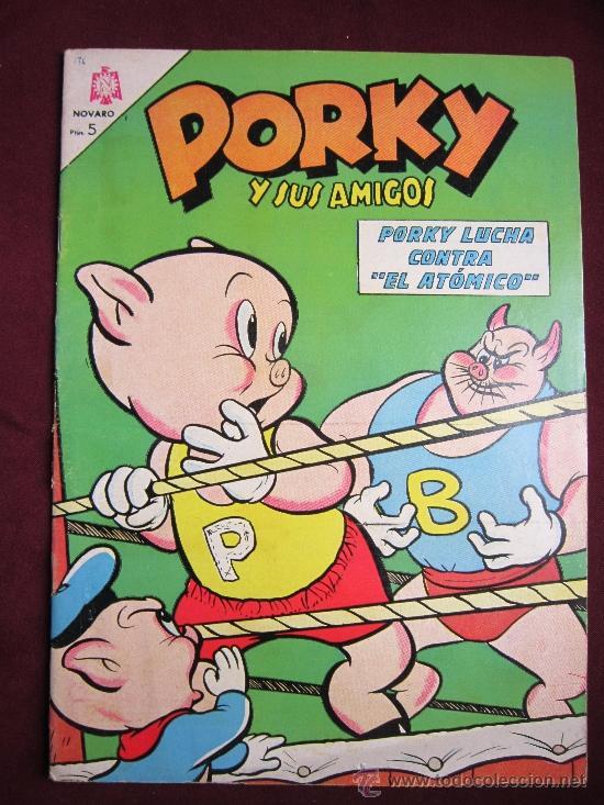 PORKY Y SUS AMIGOS Nº 175. 1966. NOVARO TEBENI (Tebeos y Comics - Novaro - Porky)