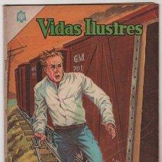 Tebeos: VIDAS ILUSTRES # 112 LA JUVENTUD DE WINSTON CHURCHILL NOVARO 1965 BUEN ESTADO. Lote 36493389