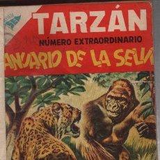 Tebeos: TARZAN EXTRAORDINARIO 96 P 1956, TARZAN # 43 Y 55, LULU,CRABBE,NOVARO PROTEO PRENSA 422 P 11 TEBEOS. Lote 93696673