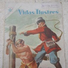 Tebeos: VIDAS ILUSTRES Nº 28 ED. NOVARO (MAYO 1958) . Lote 36643258