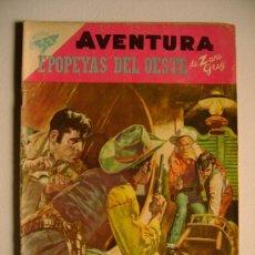 Tebeos: AVENTURA N° 89 - EPOPEYAS DEL OESTE - ORIGINAL EDITORIAL NOVARO. Lote 36694561