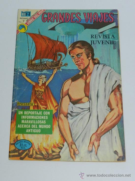 GRANDES VIAJES 127, ED. NOVARO 1973, MUNDO ANTIGUO. (Tebeos y Comics - Novaro - Grandes Viajes)