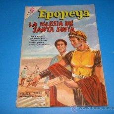 LA IGLESIA DE SANTA SOFIA - EPOPEYA - NOVARO - Nº 99 - AÑO 1.966