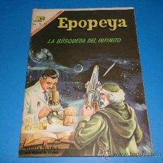 Tebeos: EPOPEYA N° 108 -LA BUSQUEDA DEL INFINITO- NOVARO 1967. Lote 36719273