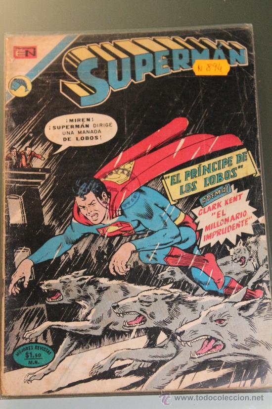 SUPERMAN 894 NOVARO (Tebeos y Comics - Novaro - Superman)