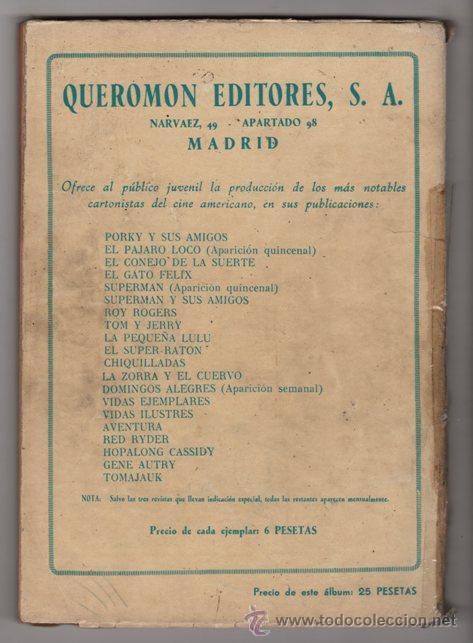 Tebeos: CINCO VIDAS ILUSTRES SAN MARTIN, DREYFUS NOVARO QUEROMON 1950´S 160 PAG LEYENDAS AMERICA # 2 BUEN ES - Foto 2 - 36839162