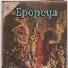 Tebeos: EPOPEYA # 23 GENGIS KHAN, SEÑOR DE ASIA NOVARO 1960 . Lote 36852066
