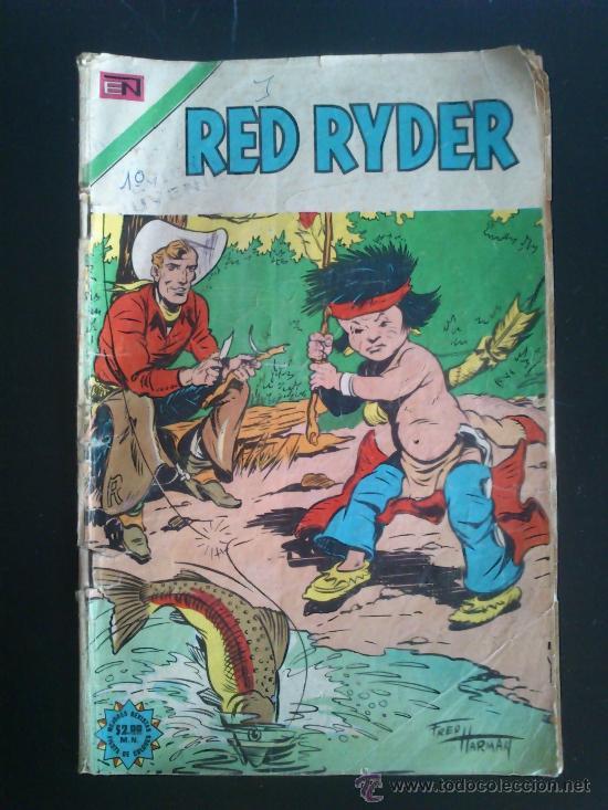 RED RYDER N° 328 NOVARO 1974 (Tebeos y Comics - Novaro - Red Ryder)