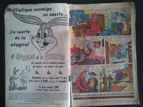 Tebeos: RED RYDER N° 328 NOVARO 1974 - Foto 2 - 36774321