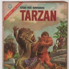 Tebeos: TARZAN # 178 NOVARO 1966 LA GUARIDA DEL HOMBRE LEON BUEN ESTADO. Lote 37227969