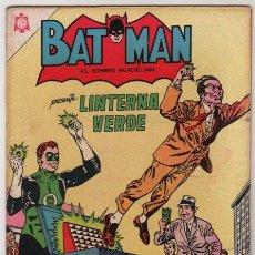 Tebeos: BATMAN # 283 NOVARO 1965 LINTERNA VERDE, LA VENTA DE LOS ANILLOS DE PODER - IMPECABLE. Lote 37323544
