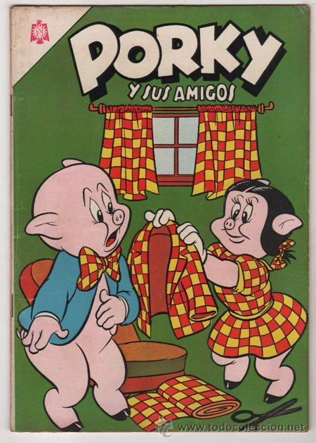PORKY # 171 NOVARO 1965 WARNER BROS CARTOONS INC - IMPECABLE (Tebeos y Comics - Novaro - Porky)