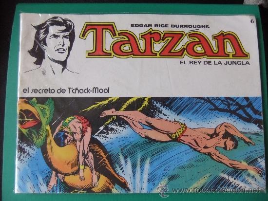 TARZAN EL REY DE LA JUNGLA Nº 6 (Tebeos y Comics - Novaro - Tarzán)