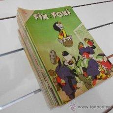 Tebeos: FIX Y FOXI ( LOTE DE 58 NºS). Lote 37746392