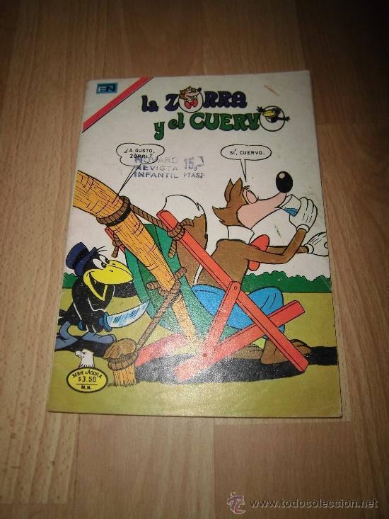 EL ZORRO Y EL CUERVO NOVARO Nº 414 MEXICO 1977 (Tebeos y Comics - Novaro - Otros)