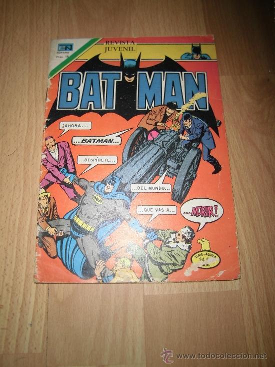 BAT MAN NOVARO Nº 881 MEXICO 1977 (Tebeos y Comics - Novaro - Otros)