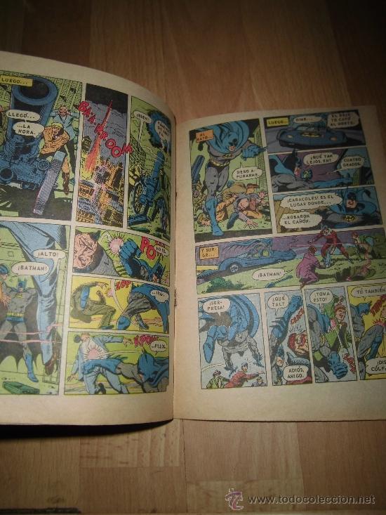 Tebeos: BAT MAN NOVARO Nº 881 MEXICO 1977 - Foto 3 - 37766562