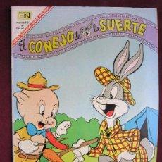 Tebeos: EL CONEJO DE LA SUERTE Nº 263. NOVARO 1967. Lote 37980621