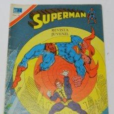 Tebeos: SUPERMAN, SERIE AGUILA NUM. 2-1124, SEPTIEMBRE DE 1977, LA LUCHA POR LA SUBSISTENCIA. Lote 38217206