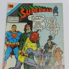 Tebeos: SUPERMAN, SERIE AGUILA NUM. 2-1116, AGOSTO DE 1977, TU ME CAUSARAS LA MUERTE.. Lote 38217229