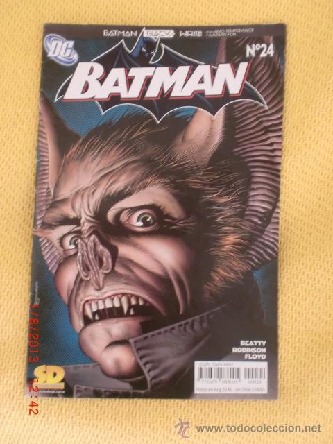 BATMAN BLACK + WHITE DC N°24 ENERO 2006 (Tebeos y Comics - Novaro - Batman)