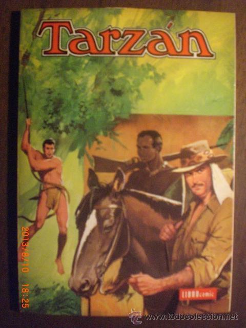 TARZAN - LIBRO COMIC NOVARO - TOMO XLIV (Tebeos y Comics - Novaro - Otros)