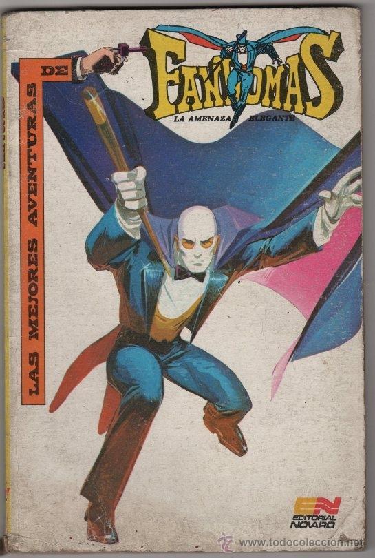 FANTOMAS NOVARO 1980 JANE FONDA LAS MEJORES AVENTURAS 144 PAGINAS TAPAS DURAS EXCELENTE (Tebeos y Comics - Novaro - Sci-Fi)