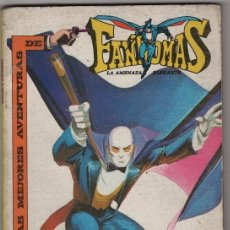Tebeos: FANTOMAS NOVARO 1980 JANE FONDA LAS MEJORES AVENTURAS 144 PAGINAS TAPAS DURAS EXCELENTE. Lote 38680611