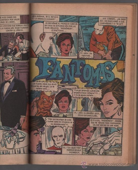 Tebeos: FANTOMAS NOVARO 1980 JANE FONDA LAS MEJORES AVENTURAS 144 PAGINAS TAPAS DURAS EXCELENTE - Foto 6 - 38680611