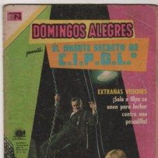 Tebeos: DOMINGOS ALEGRES # 859 NOVARO 1970 EL AGENTE DE C.I.P.O.L. Lote 38709308