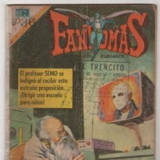 Tebeos: FANTOMAS # 2 NOVARO 1969 RUBEN LARA - 200 EJEMPLARES A LA VENTA EL FRACASO DE FANTOMAS. Lote 38743342