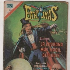 Tebeos: FANTOMAS # 188 NOVARO 1974 - 200 EJEMPLARES A LA VENTA - LA LADRONA MAS HABIL DE PARIS. Lote 38804165