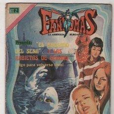 Tebeos: FANTOMAS # 189 NOVARO 1974 - 200 EJEMPLARES A LA VENTA - EL AHOGADO DEL SENA..LAS RABIETAS DE GERARD. Lote 38804174