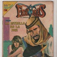 Tebeos: FANTOMAS # 3-43 NOVARO 1980 AVESTRIZ - 200 EJEMPLARES A LA VENTA - LA ESTRELLA DE LA PAZ. Lote 38825495