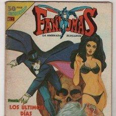 Tebeos: FANTOMAS # 3-47 NOVARO 1980 AVESTRUZ - 200 EJEMPLARES A LA VENTA - LOS ULTIMOS DIAS DE SEMO. Lote 38825551