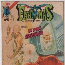 Tebeos: FANTOMAS # 3-63 NOVARO 1980 AVESTRUZ - UN FAKIR SEMIDESNUDO, MAHATMA GANDHI, SEMO & FANTOMAS. Lote 38825575